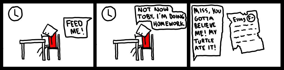 Homework & Hunger
